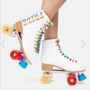 Pride Rainbow Roller Blades